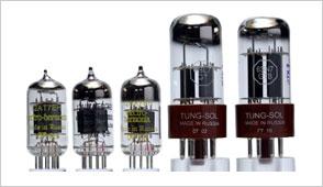 1960年代日本製プリ管5ペアセット(松下12AX7A、12AT7、12AU7、東芝12AX7)